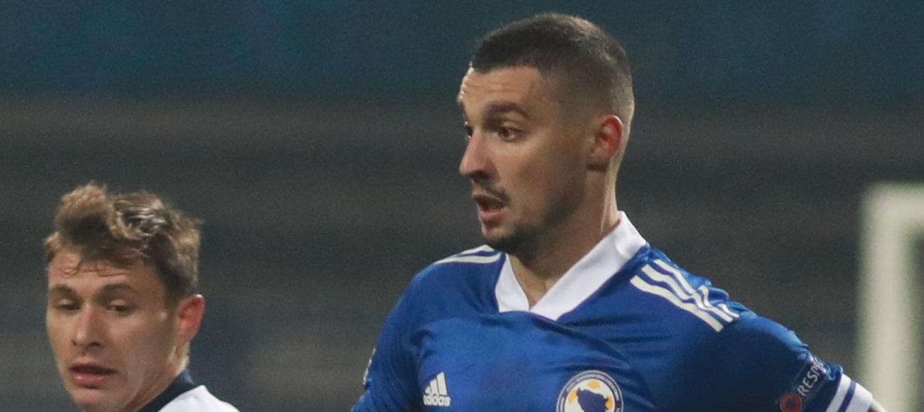 Bosnia and Herzegovina-Italy 0:2
